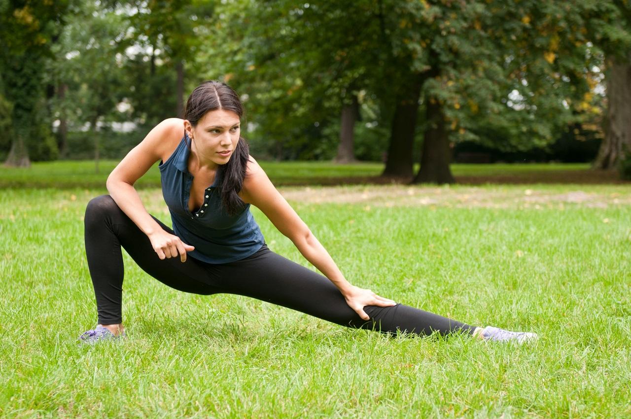 Простые упражнения для похудения ног