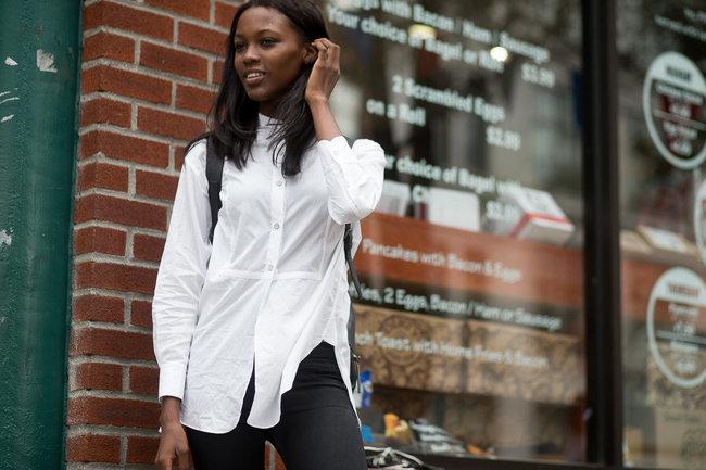 7. Άσπρο πουκάμισο