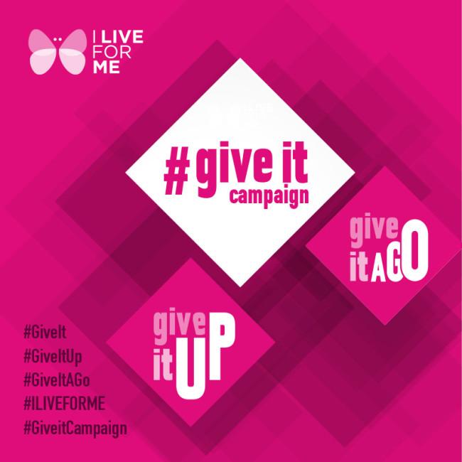 Logo #GiveitCampaign