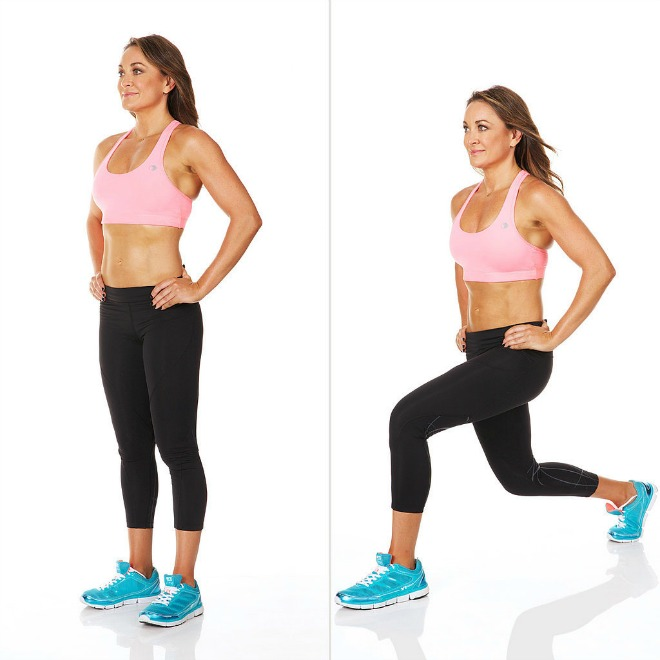 Backward-Power-Lunge